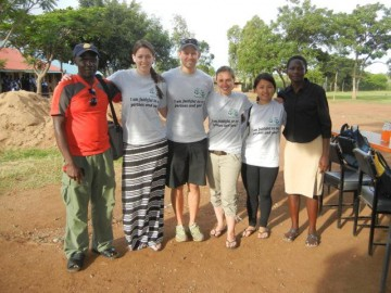 2012 GHI Kenya team with field officers at a HIV education workshop.