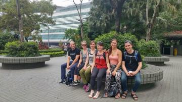(L to R) Hamish Bodnar, Vanessa Montagliani, Cara McCulloch, Joyce Ching, Laura Bruulsema, Kia DullemondNot pictured: Jingfei Zhang