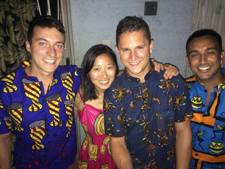 (L to R) Jake Blanco, Laura Kim, Ross Hengel, Rehman Jinah
